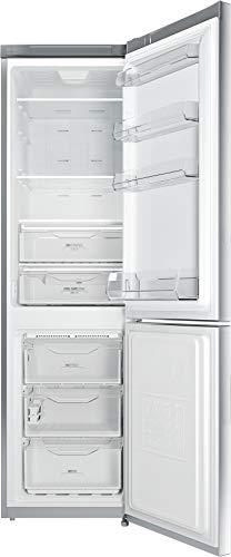 Privileg PRBN 396S A++ Kühl-/Gefrier-Kombination / NoFrost / Cool Care Zone / 368L Gesamtnutzinhalt/ 104L Gefrieren /LED-Licht / silber