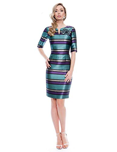 Vestido Olimara Turquesa 14171070 para Mujer 42 Turquesa
