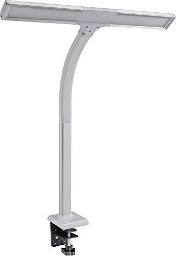 LED Schreibtisch-Lampe 50 cm 600 lm dimmbar Klemmfuß