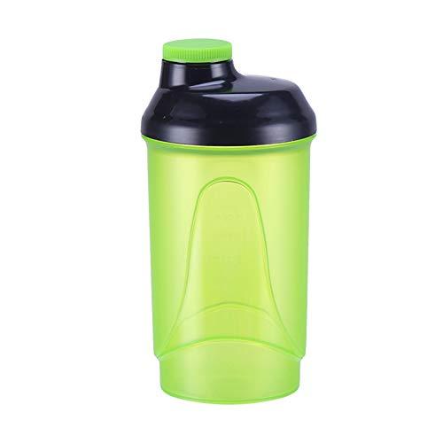 LSGMC Shaker Bottle, Max Value Protein Shaker Cups, 600ml,Green