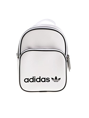 adidas BP CLAS X Mini, Mochila Unisex Adulto, Blanco (Blanco), 24x36x45 cm (W x H x L)