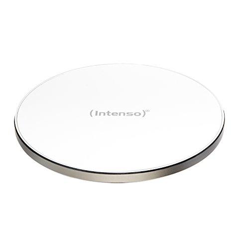 Intenso Wireless Charger WA1 Ladegerät Induktive Ladestation, Qi zertifiziert, weiß
