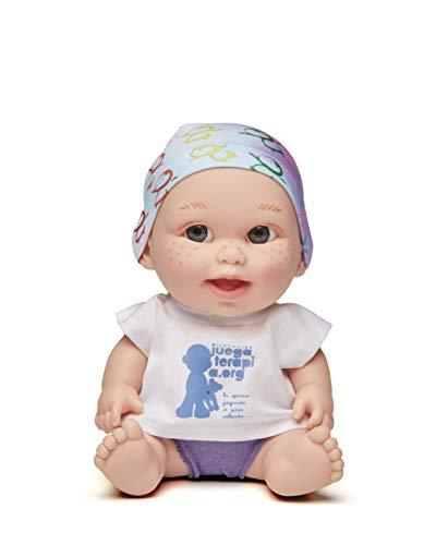 Juegaterapia Muñeco Baby Pelón, Diseñado por Ricky Martin, Juguete Solidario con Olor a Vainilla, 20 x 10 x 20 cm