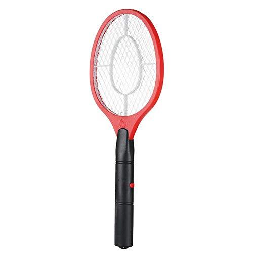 LJLLINGC Elettrico Fly Mosquito Swatter Killer Bug Pest Zapper Racchetta Insetti Killer Cordless Alimentazione a Batteria Rete di Sicurezza Zanzariera