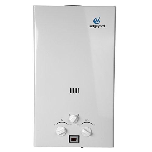 Iglobalbuy Calentador de agua a gas atmosférico sin tanque Calentador de agua...