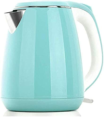 Home Multifunctional Fast Electric Kettle 1.5L Food Grade Stainless Steel Kettle Double Layer Anti-scalding Kettle/teapot Suitable for Home Use High Capacity (Color Yellow) Yellow-Green Perfec