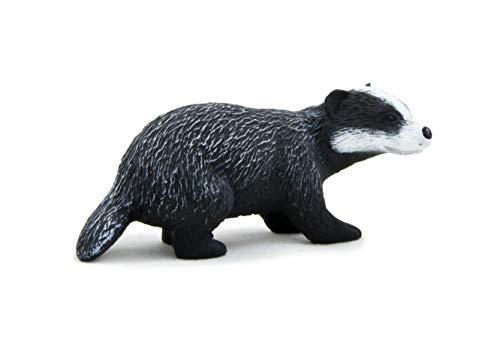 MOJO Badger Model British Woodland Wildlife Animal Toy Figure