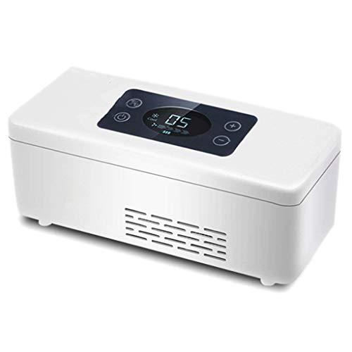 Auto Kühlschrank YLLXX Insulin Kühlbox Wiederaufladbare Tragbare Mini USB Kleinen Kühlschrank Thermostat (190 * 80 * 70Mm)