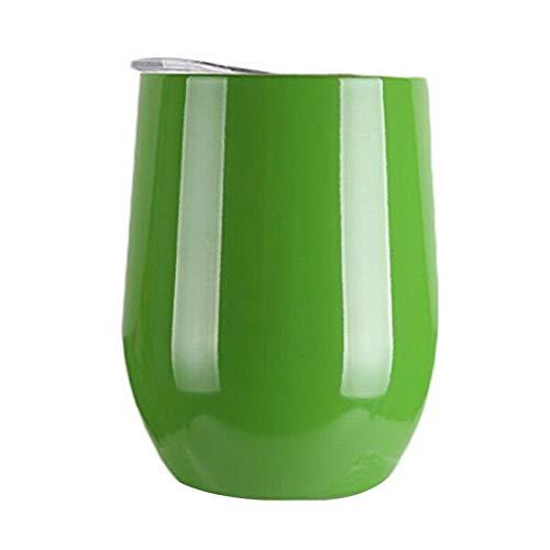 Zest (Brew) von Happy Earth (350 ml, doppelwandiger Edelstahl, vakuumisolierter Reisebecher mit spritzwassergeschütztem Deckel, BPA-frei)
