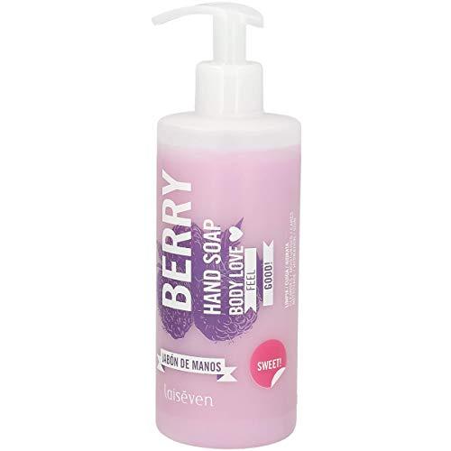 LAISEVEN jabón líquido de manos berry dosificador 400 ml
