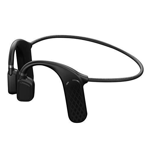SURD ワイヤレスヘッドセット Bluetooth5.0骨伝導イヤホン 在宅勤務に使用可能 骨伝導ヘッドフォン スポーツイヤーヘッドセット 骨伝導集音器ワイヤレスイヤホン 自動ペアリングヘッドホンマイク内蔵 超軽量イヤホンノイズキャンセル ハンズフリー通