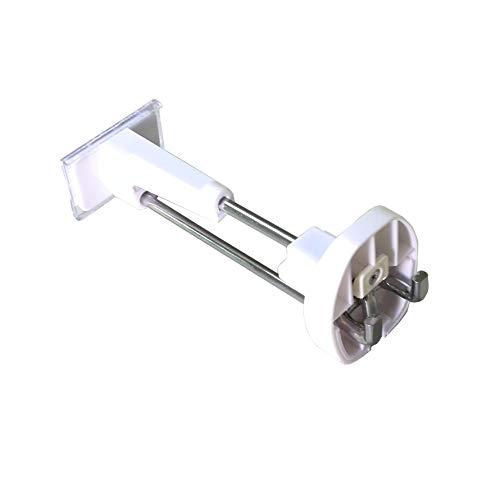 FixtureDisplays 50 PCS Anti-Theft Security slatwall Hook with Magnetic Key 15229-50HOOK