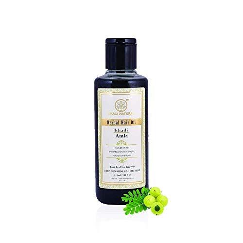 Khadi Natural Herbal Ayurvedic Amla Hair Oil