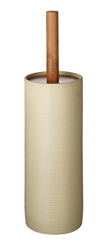 RIDDER 21054090 Brosse à WC Roller, Synthétique, Beige, 9 x 9 x 38 cm