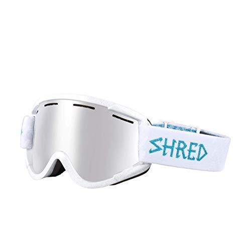 Shred Nastify Máscara de Esquí o Snowboard, Unisex adulto, Hey Pretty Girl Platinium, Única