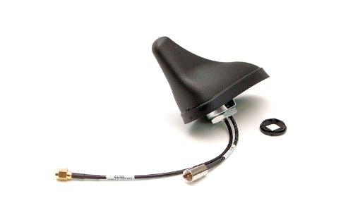 Dakantenne/auto-antenne voor gsm, UMTS, 3G met GPS-ontvanger in haaienvinnen design, schroefbaar