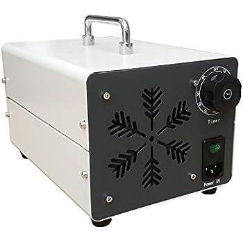 DJXLMN Generador de ozono Comercial 30G / H, purificador de Aire Industrial O3, esterilizador Desodorante para el hogar: Amazon.es: Hogar
