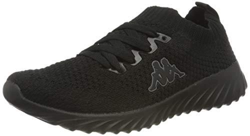 Kappa Unisex-Erwachsene SNEEM Sneaker, Schwarz (Black 1111), 44 EU