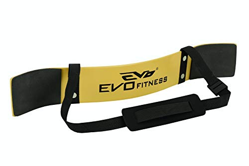 EVO Fitness Gewichtheben Arm Blaster Bizeps Isolator Support Für Gym Riemen Tücher - Gelb