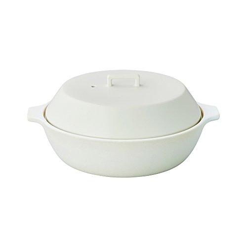 KINTO (キントー) KAKOMI IH 土鍋 2.5L ホワイト 25192