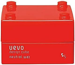 ウェーボ デザインキューブ (uevo design cube) ニュートラルワックス 30g ヘアワックス