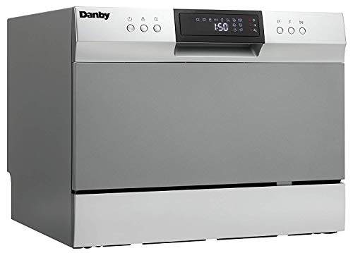 Danby DDW631SDB Countertop Dishwasher, Stainless (Pack of 1)