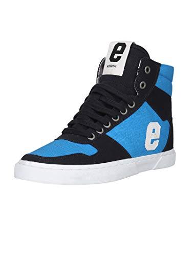 Ethletic Unisex Sneaker Hi Fair Hiro Grid Blue 41 Fair   Vegan   Nachhaltig