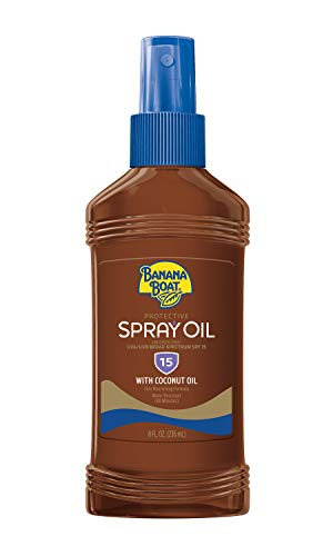 Banana Boat Deep Tanning Spray SPF 4, 8 Ounces (Value Pack of 3)