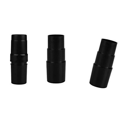 sharplace 3pcs 32A 35mm adaptador de manguera de aspiradora accesorio Reemplazo aspirador