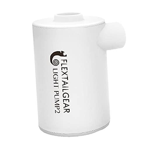 HomeDecTime Bomba de Colchón de Aire USB Portátil Anillo de Natación Tubo de Baño