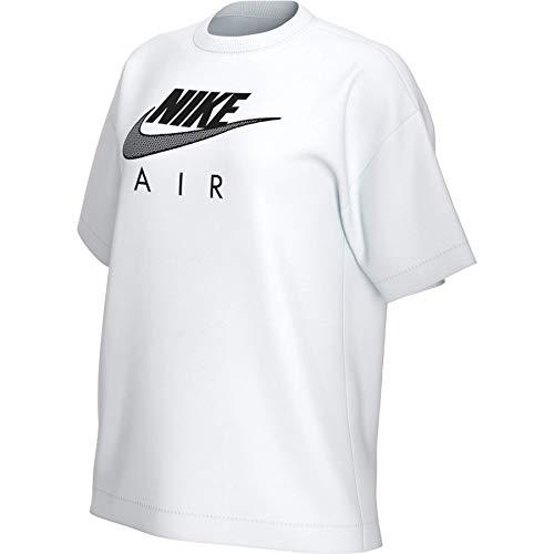 NIKE Camiseta para Mujer Air BF Purple Smoke/White S
