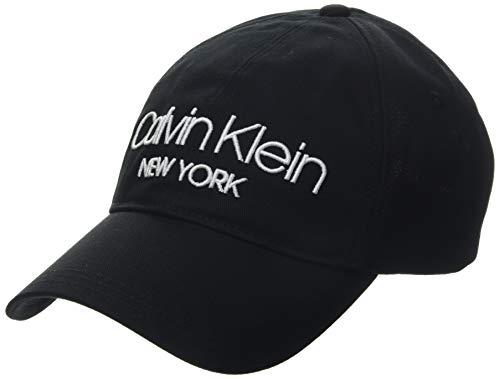 Calvin Klein Herren Ck Ny Bb Baseball Cap, Mehrfarbig (Black White Stitch Gp), One Size (Herstellergröße: OS)