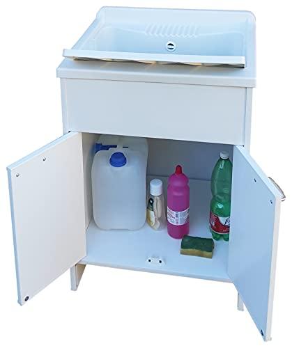 NG - Lavadero automático de resina para exterior, 60 x...