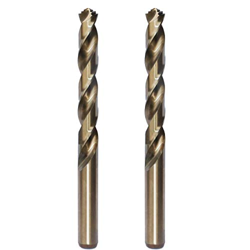 STROTON Metric M42 8% Cobalt Twist Drill Bits for Stainless Steel and Hard Metal (11mmx2PCS)