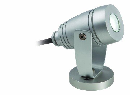 Firstlight Plafonnier 3 W/1 x LED IP68 étanche LED Applique Murale et Spot Piquet en aluminium, Blanc