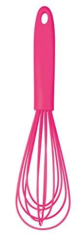 Colourworks  Silikon-Ballonschneebesen, 26 cm – Rosa