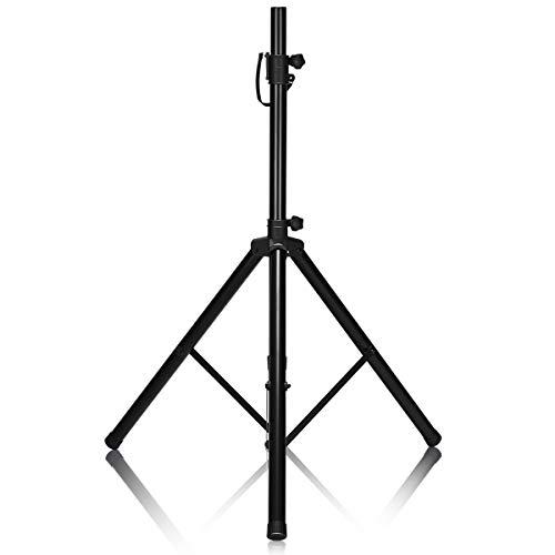 COSTWAY Boxenstativ Boxen Ständer, Lautsprecherständer Höhenverstellbar von 97-183cm, Boxenständer belastbar bis 50kg