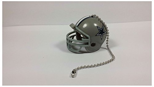 NEW NFL Ceiling Fan Helmet Pull Chain Lamp Pull Chain (DALLAS COWBOYS)