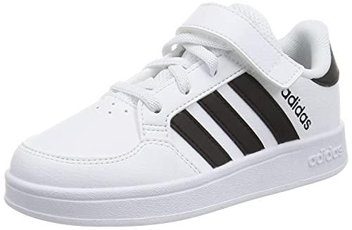 adidas BREAKNET C, Zapatillas de Tenis, FTWBLA/NEGBÁS/FTWBLA, 35 EU