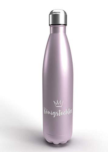 Königstochter - Isolierflasche (altrosé-metallic)