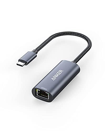 Anker PowerExpand USB-C & 2.5Gbps イーサネットアダプタ 2.5Gbps 高速イーサネット通信 MacBook Air Pro iPad Pro対応