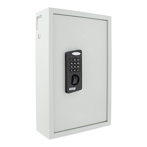 Schlüsseltresor HomeDesignKey HDK-100 EL, Elektronikschloss, Hakenleiste, Umstellmöglichkeiten