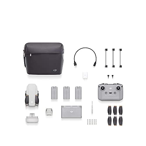 DJI Mini 2 Fly More Combo (EU) + Care Refresh (Auto-activated) - Drohne mit Zubehör und Schutzpaket, leicht und tragbar, 6 km HD-Video-übertragung, 4K Video, der Abdeckung vielfältiger Schadensarten