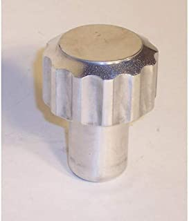 Billet Shift Knob, Knurled Grip, Fits 10 & 12mm Thread, Compatible with Dune Buggy