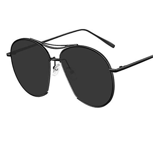 LDH Gafas de Sol Polarizadas para Mujeres, Gafas de Sol Anti-Ultravioleta de Alta Definición, Gafas de Sol Elegantes Y Ligeras de Marco Grande con Protección UV400 (Color : D)