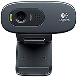 Logitech C270 3 Megapixels HD Webcam - 720p Video - Widescreen - USB 2.0 Interface - Black (Renewed)