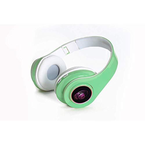 Draadloze Bluetooth-hoofdtelefoon Draagbare opvouwbare ondersteuning TF-kaart Ingebouwde FM-mp3-speler met kleurrijke LED-ademlichten