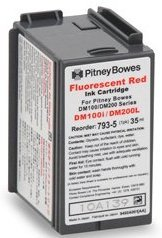 Compatible Postage Meter Ink Cartridge for Pitney Bowes 793-5 P700, DM100, DM100i & DM200L Postage Meters