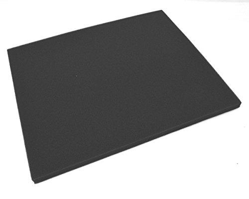RQ - Plancha de espuma para recortar y hacer filtros de aire 330 X 280 x 14 mm.