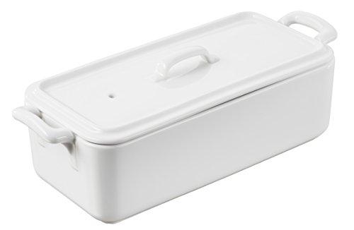 Revol BC081000 Terrine with lid, 35.25 Oz, White
